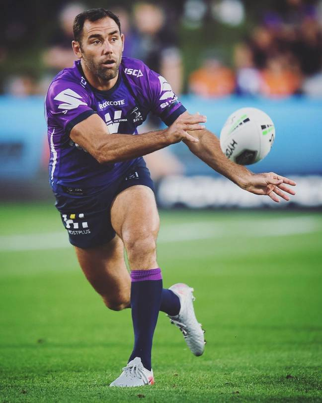 Will it be Melbourne Storm skipper Cameron Smith's last game? Credit: Instagram/@storm