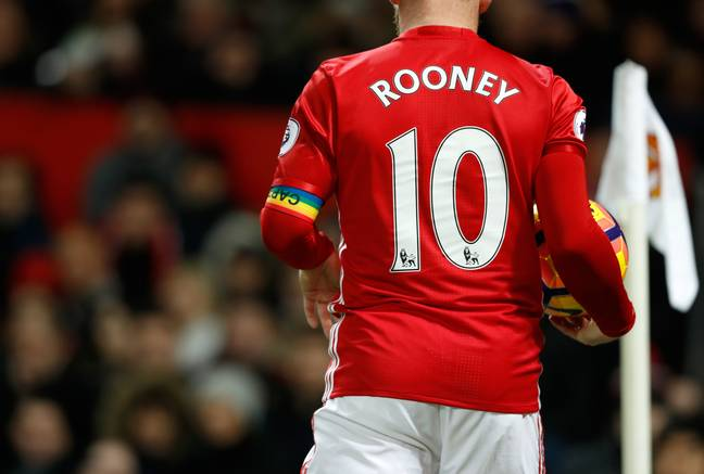 Rooney did captain on occasion under Fergie but was named club captain by Moyes. Image: PA Images