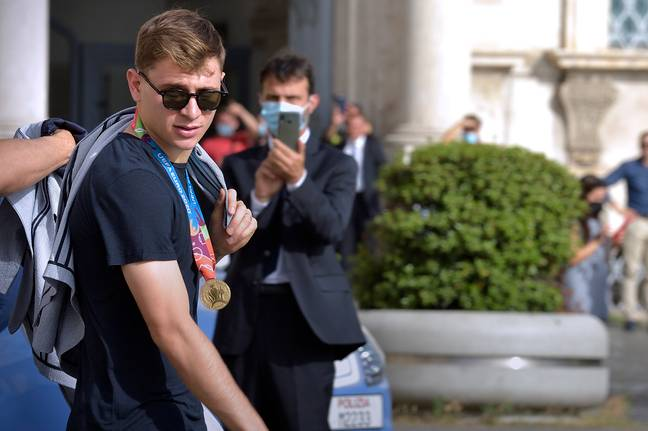 Liverpool are the red hot favourites to claim Barella's signature this summer
