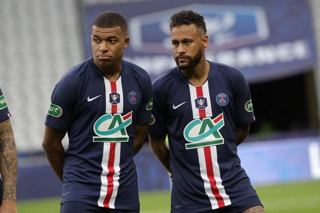 Mbappe's move would surely dwarf the existing transfer record set by his PSG teammate Neymar. Credit: PA