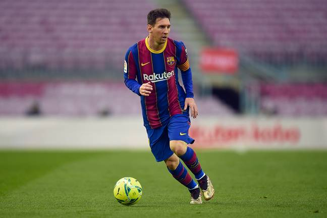 Messi is set to sign a five year deal on hugely reduce terms. Image: PA Images