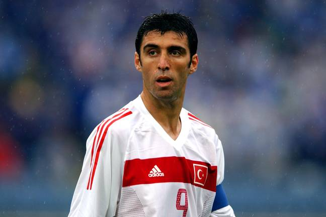 Sukur helped Turkey finish third in the 2002 World Cup. Image: PA Images