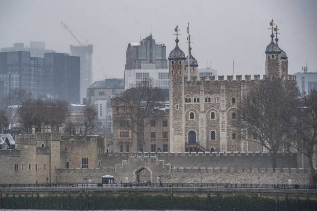 The Tower of London has more tourists than Anfield, but only just. Image: PA Images