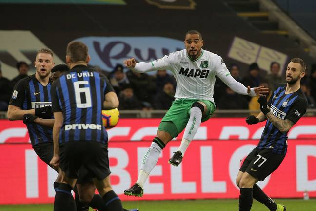 Boateng has been playing for Sassuolo. Image: PA Images