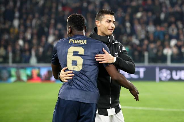 Could Ronaldo and Pogba swap clubs? Image: PA Images