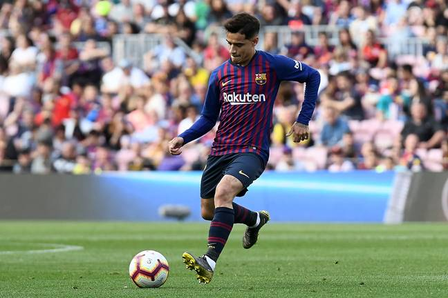 Coutinho's time at Barca is expected to be over this summer. Image: PA Images