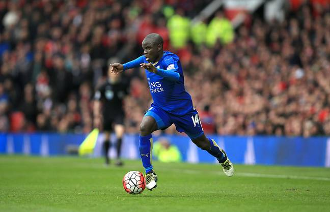 Kante became a meme in the decade for his incredible running. Image: PA Images