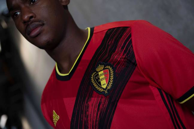 Belgium have already confirmed they'll be at the Euros. Image: Adidas