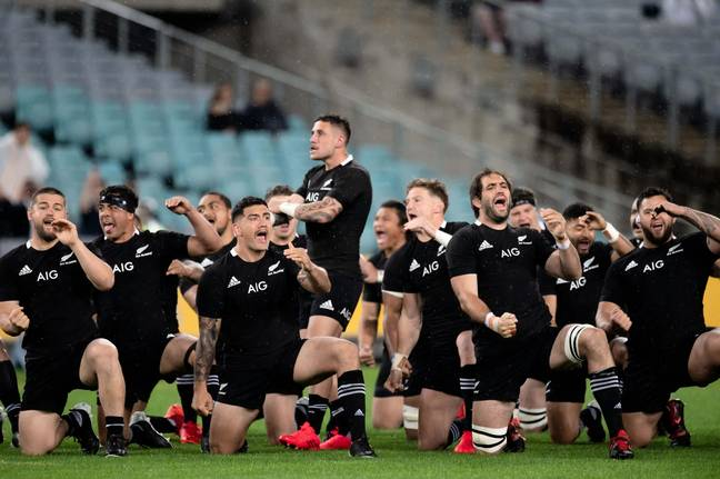 The All Blacks also performed the haka. Credit: PA