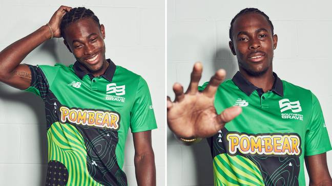 Jofra Archer will play for Southern Brave in The Hundred. Credit: The Hundred