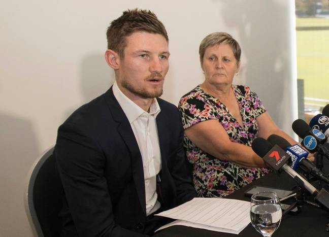 Bancroft gives his own press conference. Image: PA Images