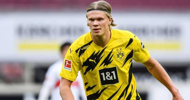 Manchester United reportedly held talks with Borussia Dortmund star Erling Haaland before Euro 2020 began