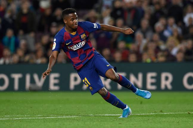 Fati has impressed at the Nou Camp already. Image: PA Images