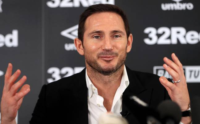 Lampard took over as Derby boss last season. Image: PA Images