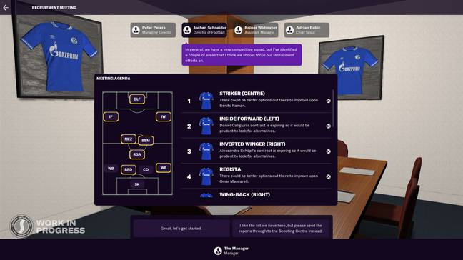 Image: Football Manager 2021/Sports Interactive