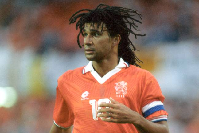 Gullit is regarded as one of the best of all time. (Image Credit: PA)