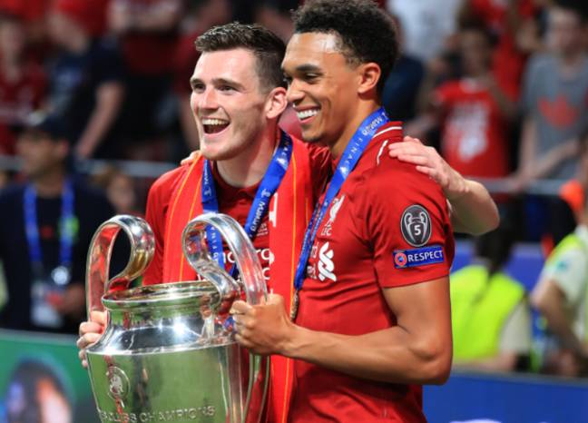 Trent Alexander-Arnold and Andy Robertson have turned into two of the best full-backs in the world