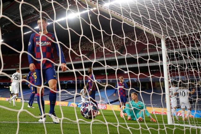 Barcelona are in disarray after their loss to Bayern. Image: PA Images