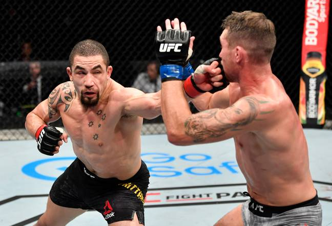 Whittaker takes on Till. Credit: PA