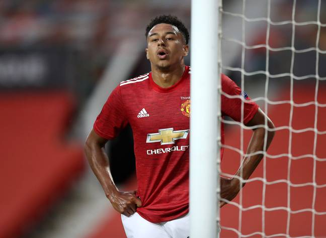 Lingard's form had totally fallen away at Old Trafford. Image: PA Images