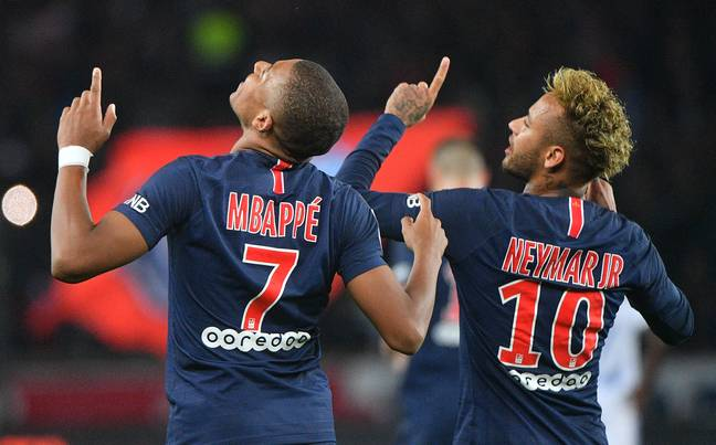 Neymar and Mbappe are both brilliant. Image: PA Images