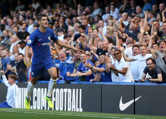 Morata isn't exactly in form right now. Image: PA Images