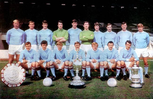 City with some of their titles from the late 60s. Image: PA Images