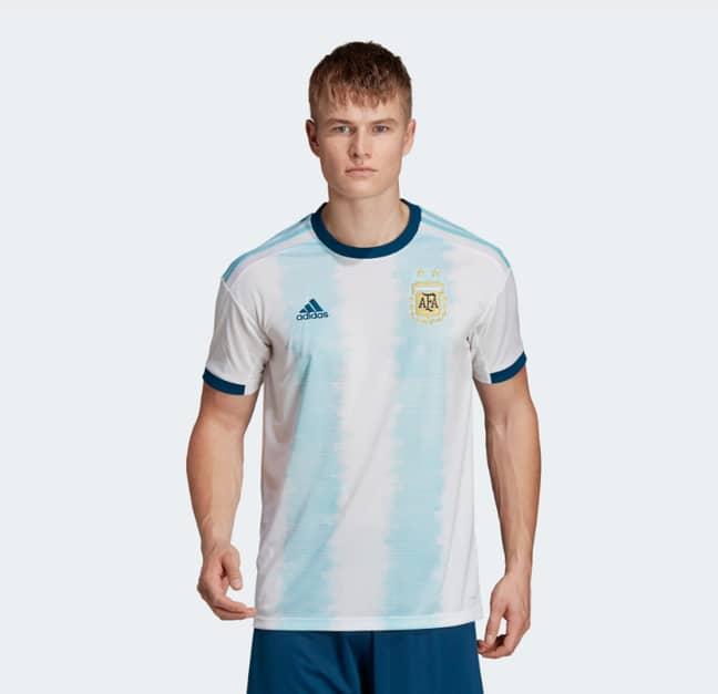 The new Argentina kit. Image: Adidas