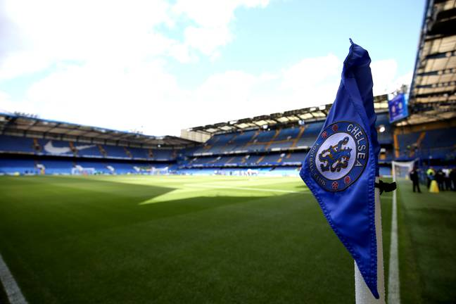 Chelsea have triangular corner flags. Image: PA Images