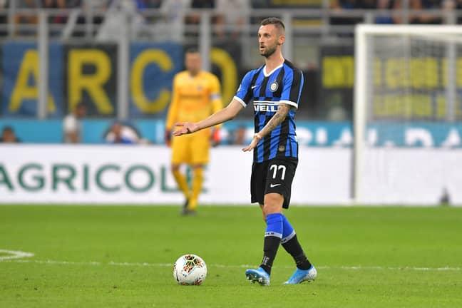 Brozovic against Udinese. Image: PA Images