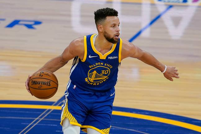 Golden State Warriors' star Curry just one of two non footballers in the top 20. Image: PA Images