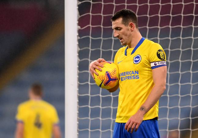 Brighton captain Lewis Dunk struggled to deal with Supat Rungratsamee at youth level. Image credit: PA
