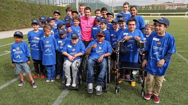Image: Leo Messi foundation