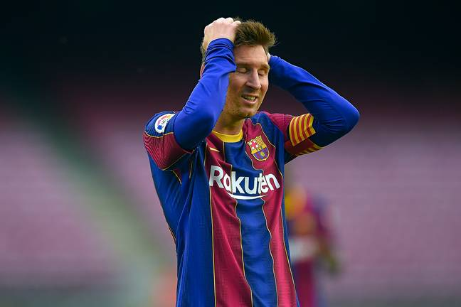 Could Messi's contract really be covered by other teams? Image: PA Images