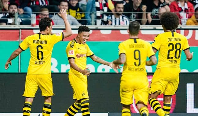 Jadon Sancho has been in excellent form for Borussia Dortmund this season