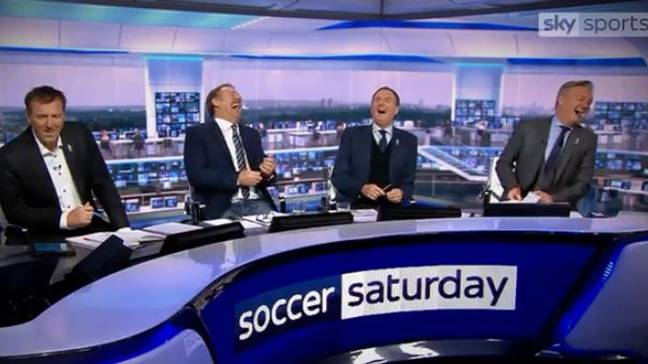 The old panel had been together for quite some time. Image: Sky Sports