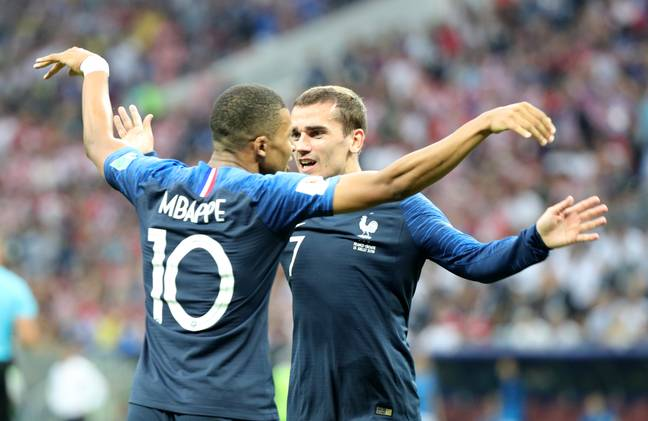 The two France players would surely be very pleased. Image: PA Images