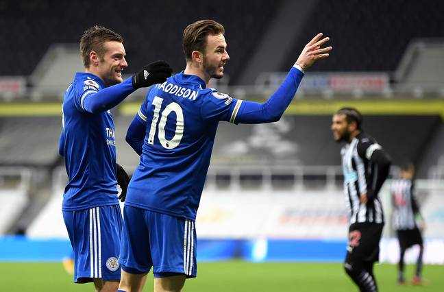 James Maddison has been extremely impressive this season. Image: PA Images