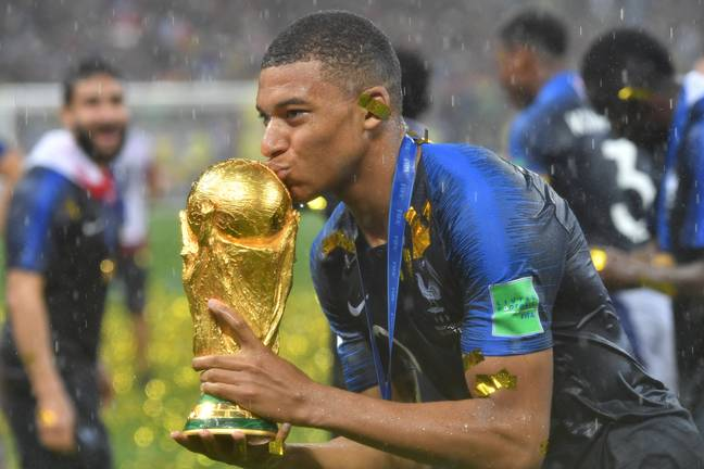 Mbappe is already a World Cup winner. Image: PA Images