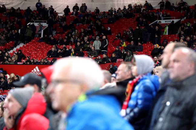 They'll be less fans in grounds if they're allowed to return in September. Image: PA Images