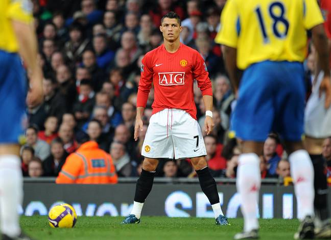 Ronaldo made almost 300 appearances for Manchester United. Credit: PA