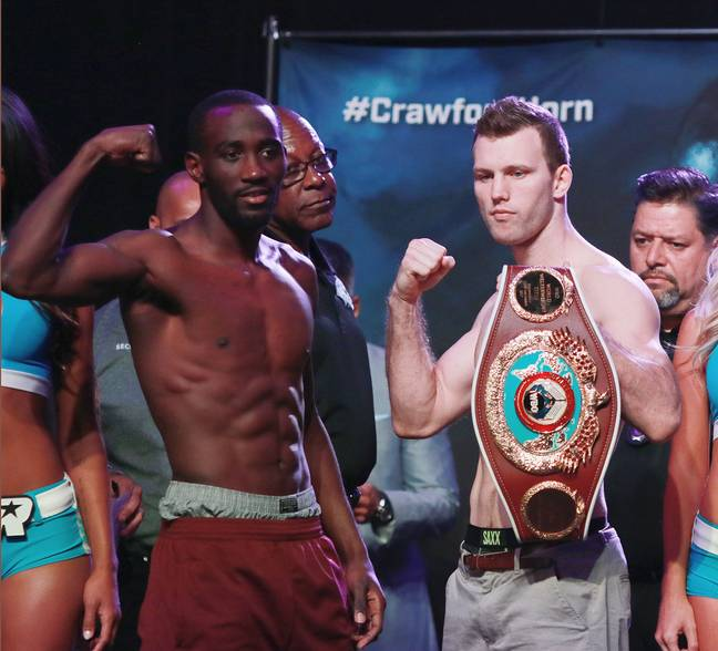 Horn lost his WBO welterweight title to Terrence Crawford in 2018.