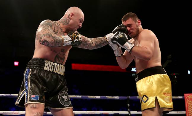 Aussie Lucas Browne is keen on having a crack at Tyson Fury. Credit: PA