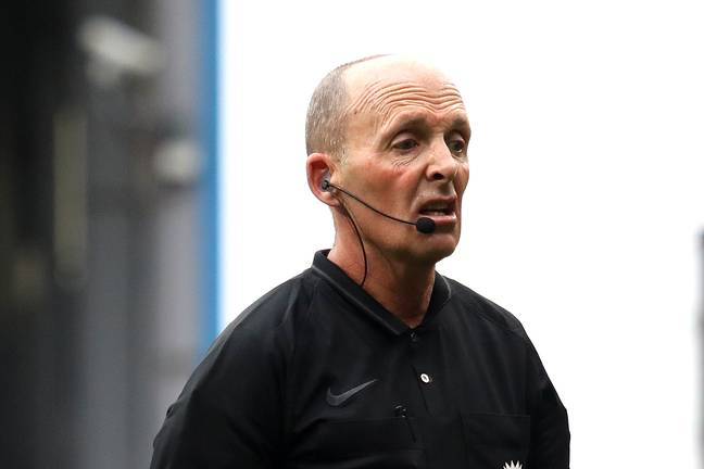 The return of the Premier League means the return of Mike Dean. Image: PA Images