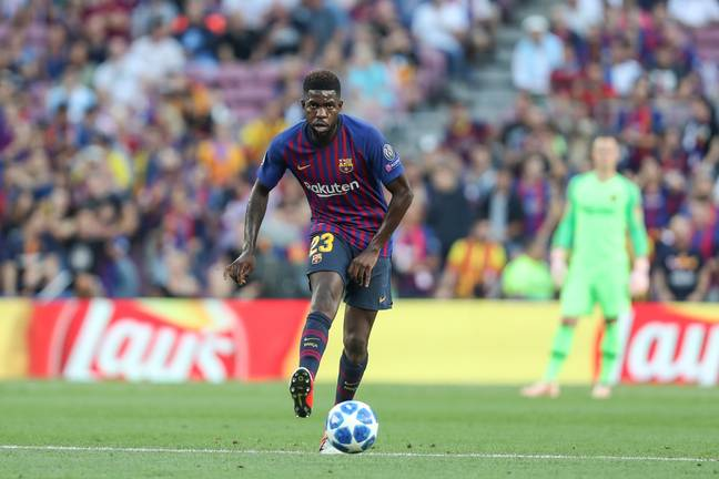 Umtiti has been overtaken by Lenglet in the pecking order this season. Image: PA Images