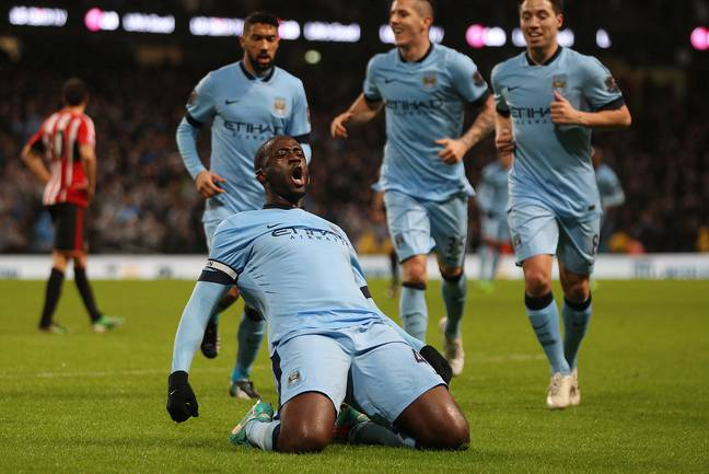 Toure was unstoppable at times for City. Image: PA Images