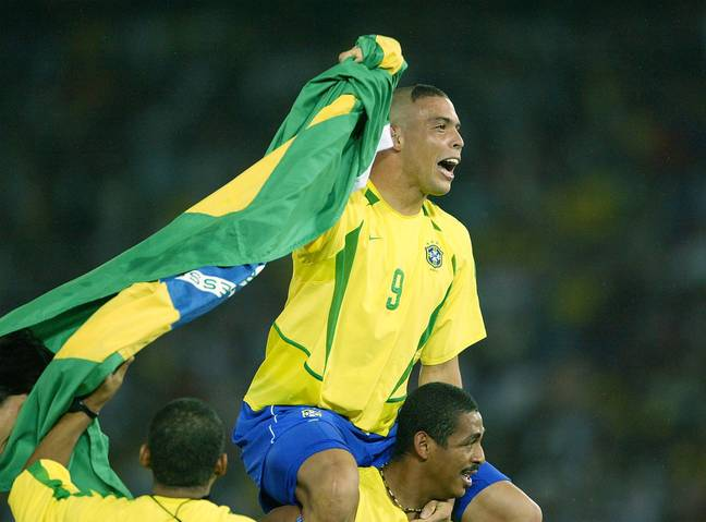 After heartache in 98, Ronaldo was the World Cup winner in 2002. Image: PA Images