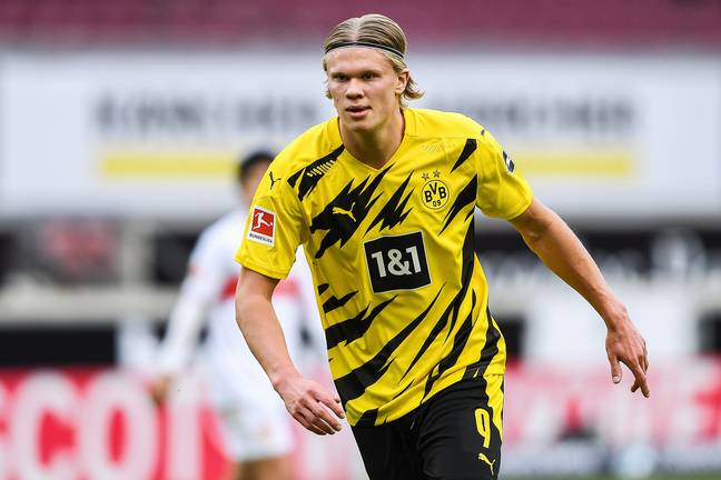 Sancho's teammate Erling Haaland could move this summer. Image: PA Images