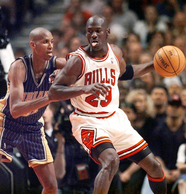 Jordan transcended basketball and is widely regarded as the greatest sports star of all-time. Credit: PA
