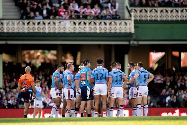 Sydney Roosters. Credit: PA
